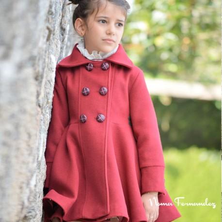 Abrigo Capa Rojo