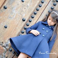Abrigo Capa Azul