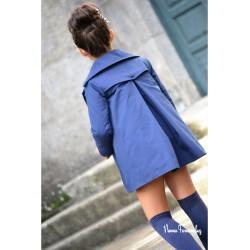 Gabardina Azul