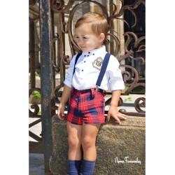 Conjunto Short Niño Glasgow