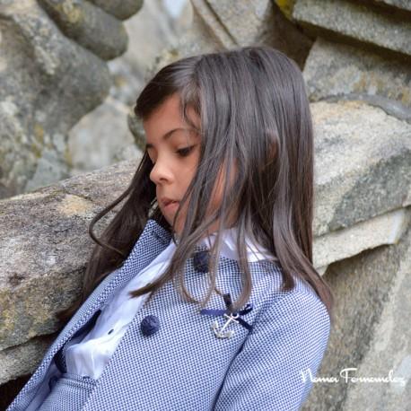 Abrigo Chanel Azul